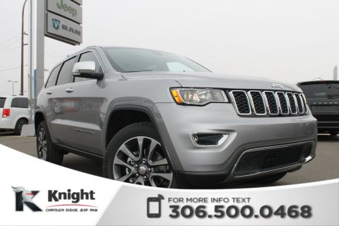 2018 Jeep Grand Cherokee Limited V6 | Sunroof | Navigation