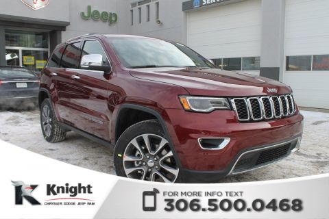2018 Jeep Grand Cherokee Limited V6 | Ventilated Seats | Sunroof | Navigation