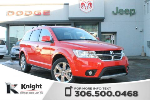2018 Dodge Journey GT AWD | Sunroof | Navigation | DVD