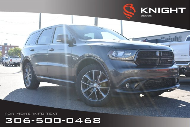 Pre-Owned 2014 Dodge Durango Limited | Leather | Heated Seats & Steering Wheel | DVD Pkg |