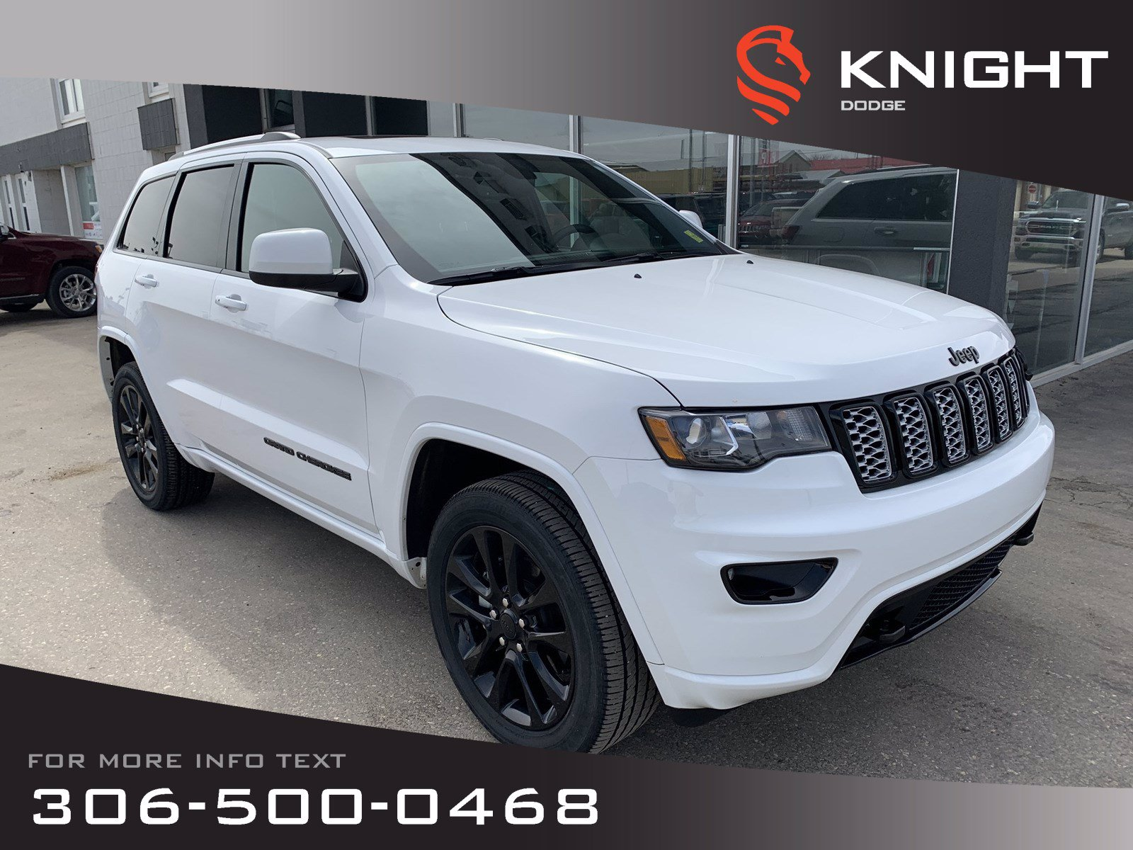 Certified Pre-Owned 2019 Jeep Grand Cherokee Altitude V6 | Leather | Sunroof | Navigation