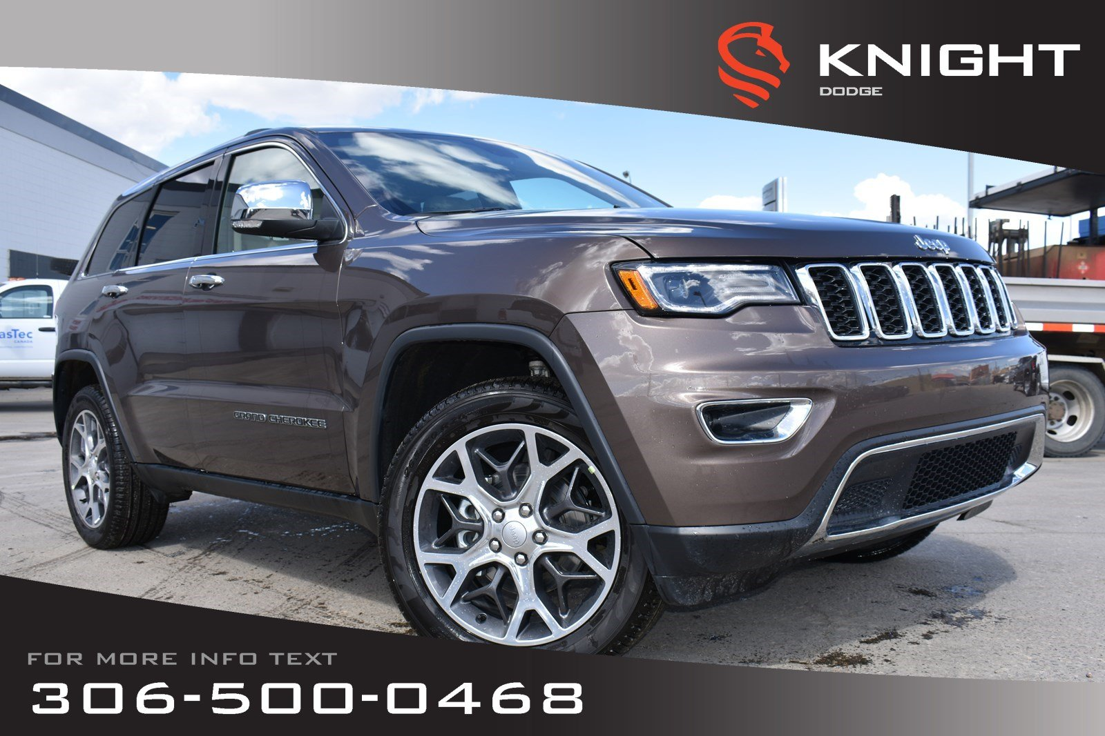 New 2019 Jeep Grand Cherokee Limited V6 | Sunroof | Navigation