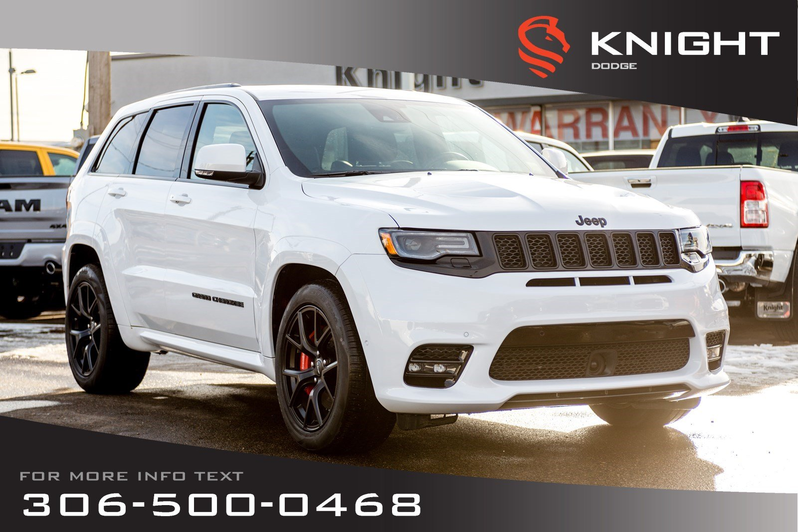 New 2019 Jeep Grand Cherokee SRT | 6.4L Hemi | Sunroof | Navigation