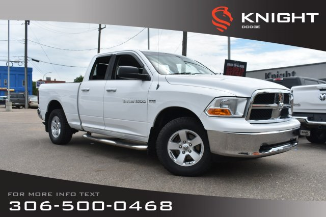 Pre-Owned 2012 Ram 1500 SLT | A/C | Cruise Control | Keyless Entry | 4WD