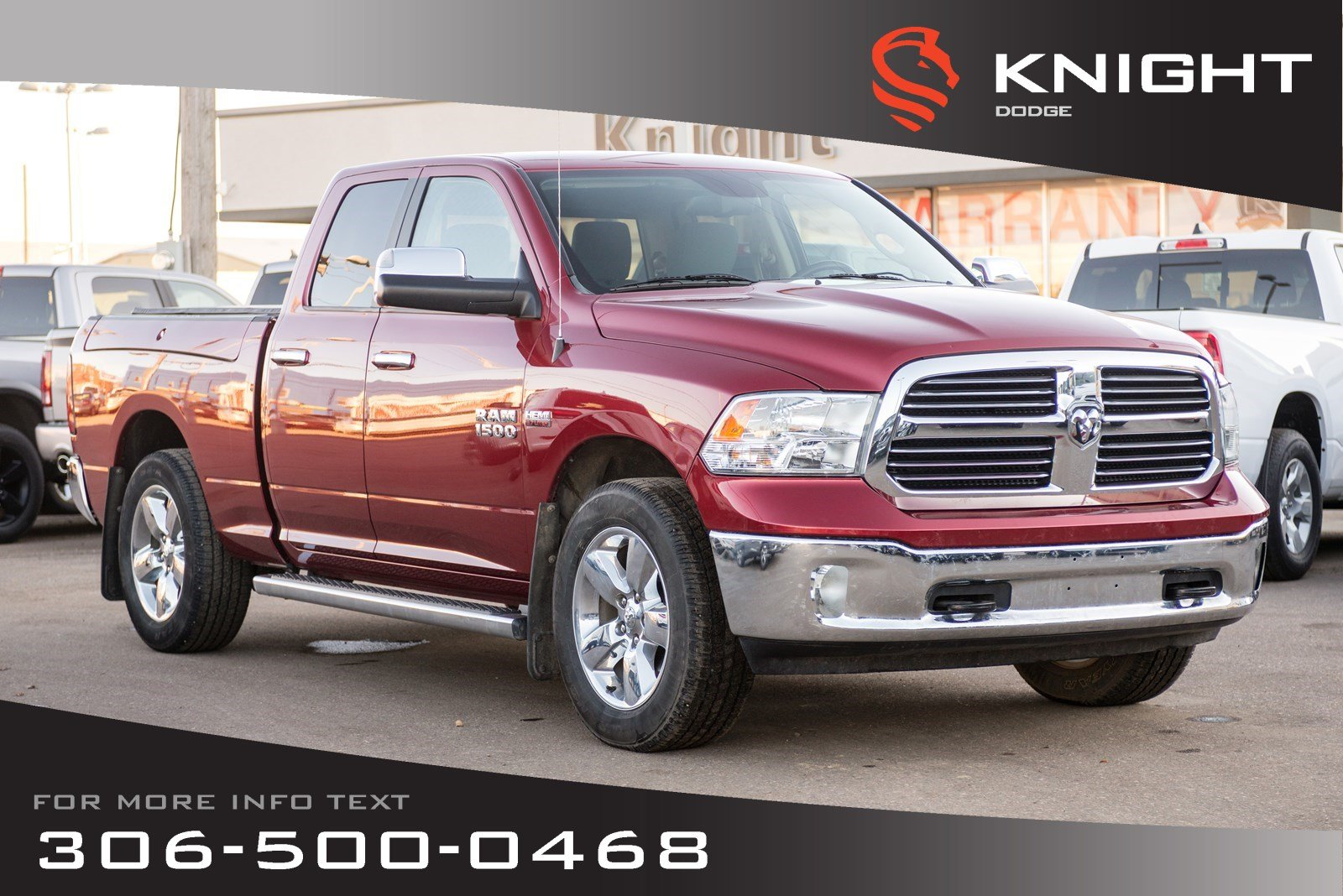 Pre-Owned 2015 Ram 1500 Big Horn | Remote Start | Heated Seats | RamBox |