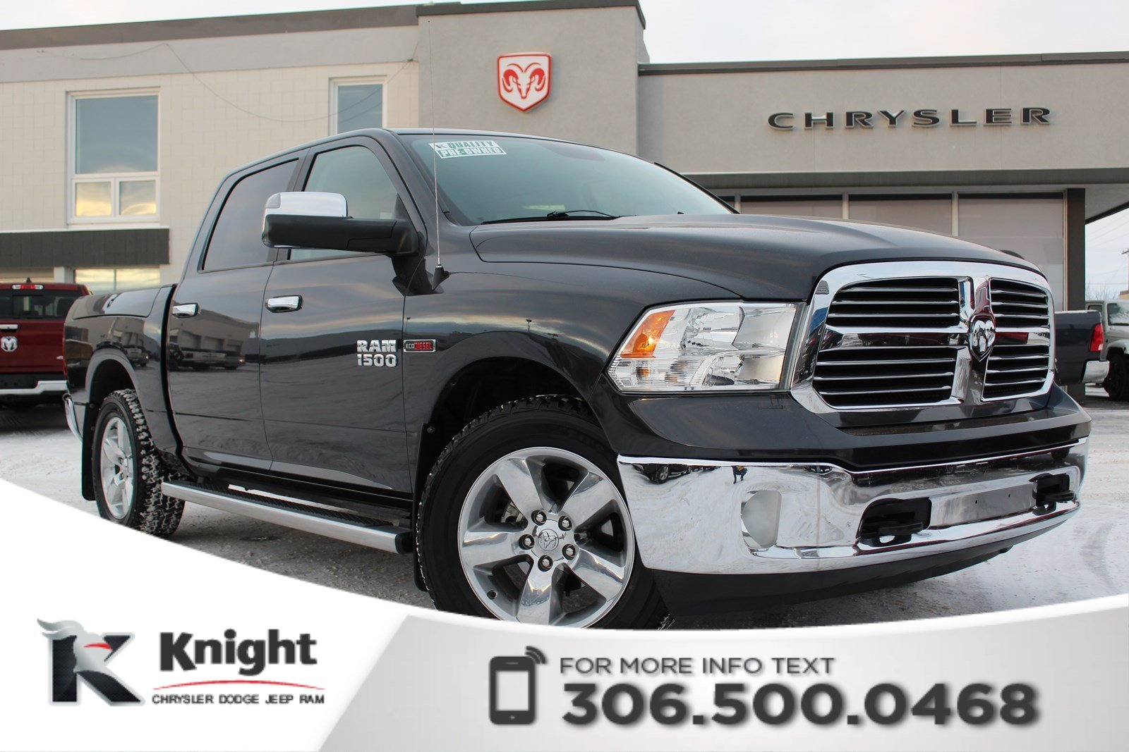 Pre-Owned 2015 Ram 1500 Big Horn - 5/160 Gold Plan - Heated Cloth Seats - Heated Steering Wheel - Remote Start