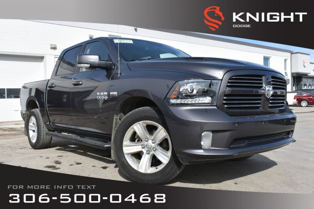 Pre-Owned 2014 Ram 1500 Sport | Leather | Heated & Cooled Seats | Remote Start |