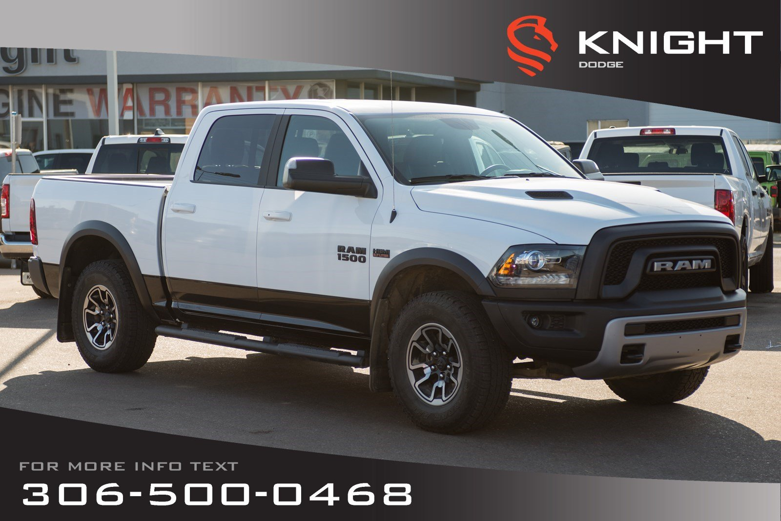 Pre-Owned 2017 Ram 1500 Rebel | Heated Seats & Steering Wheel | Low KMs | Navigation |