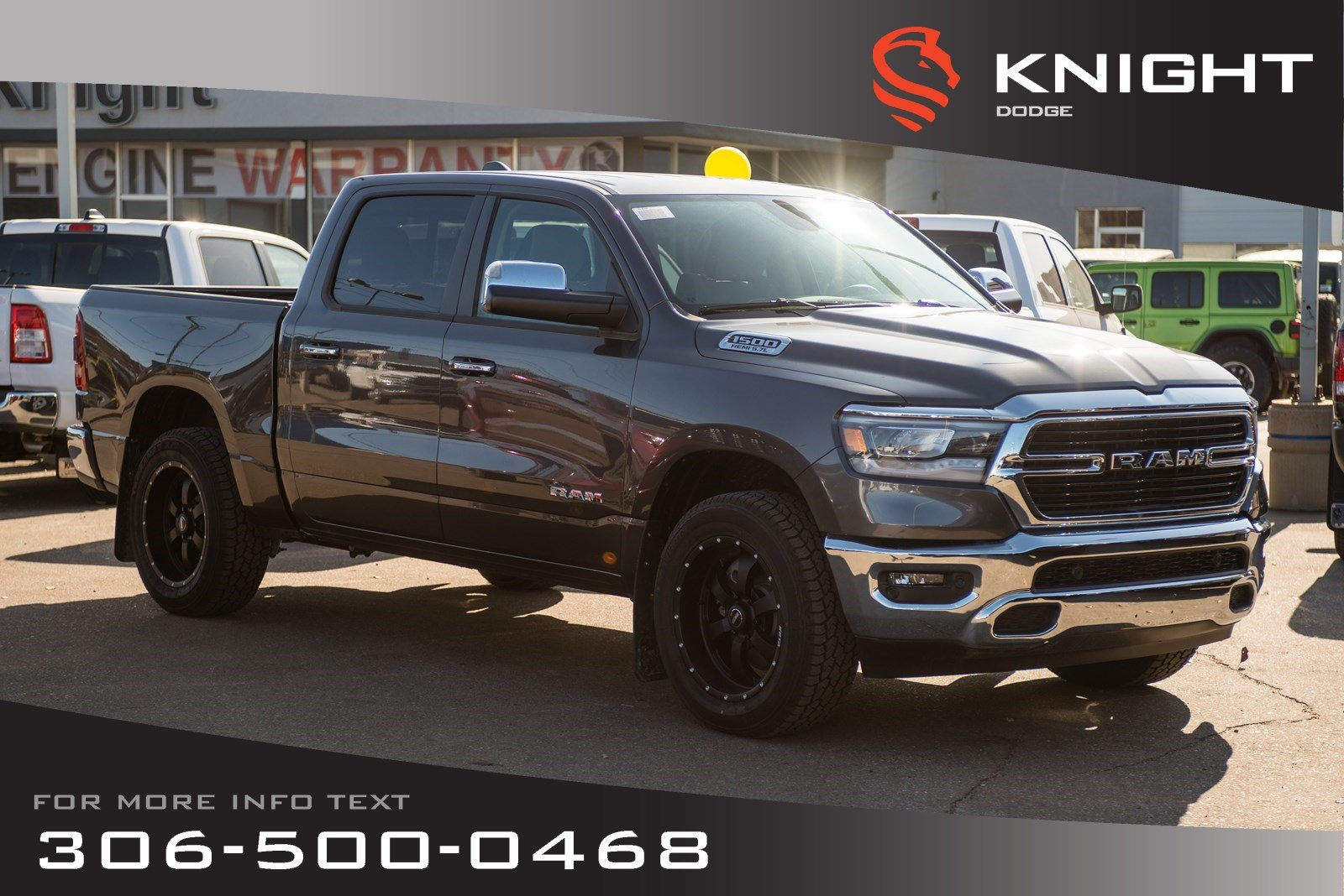 Prime New 2019 Ram 1500 Big Horn Crew Cab Heated Seats And Steering Wheel Remote Start 4Wd Crew Cab Pickup Inzonedesignstudio Interior Chair Design Inzonedesignstudiocom