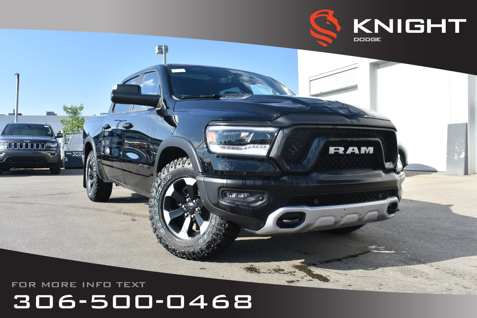 Ram 1500 Rebel >> New 2019 Ram 1500 Rebel Crew Cab Heated Seats And Steering Wheel Sunroof Navigation 4wd Crew Cab Pickup
