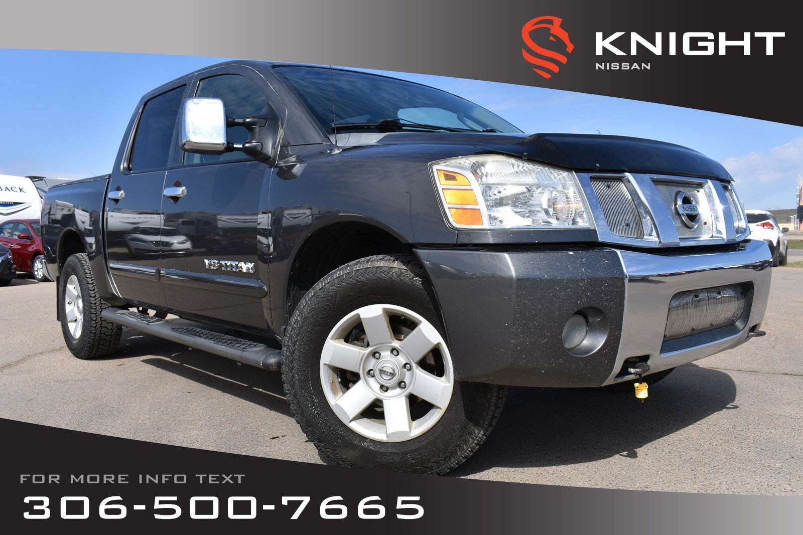 Pre-Owned 2006 Nissan Titan LE | Leather | Power Pedals | Heated Seats |