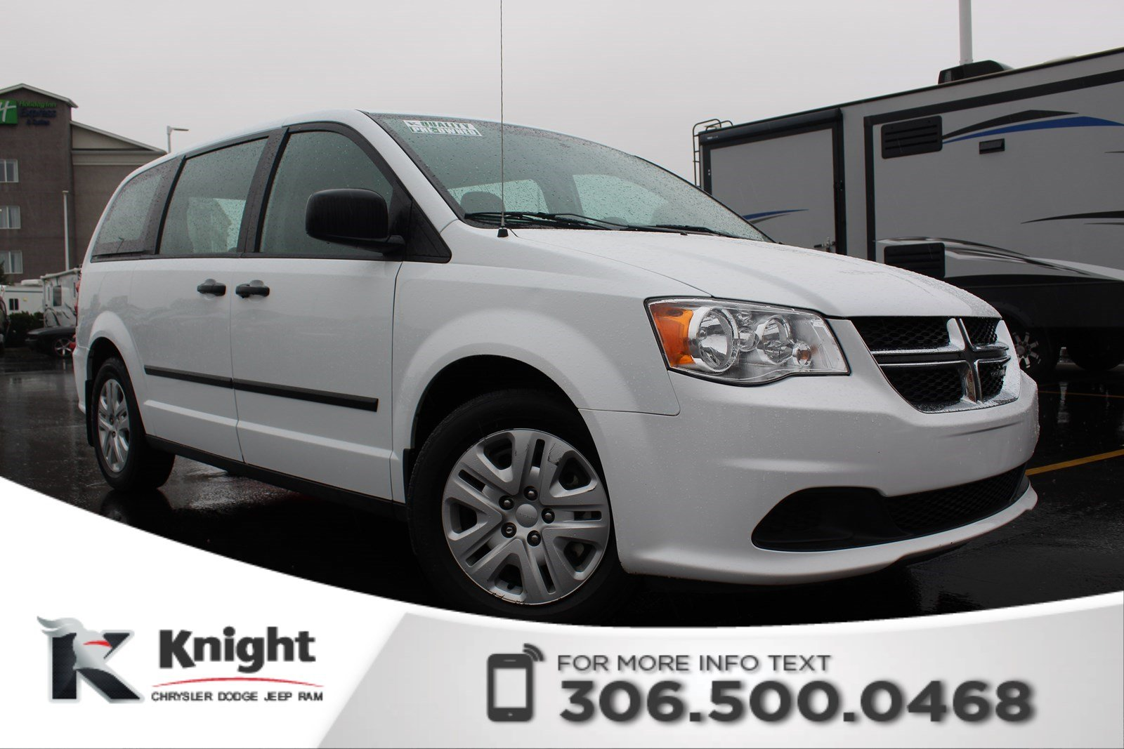 Pre-Owned 2016 Dodge Grand Caravan Canada Value Package | CD Player | 2nd Row Bench | 3rd Row Stow-N-Go