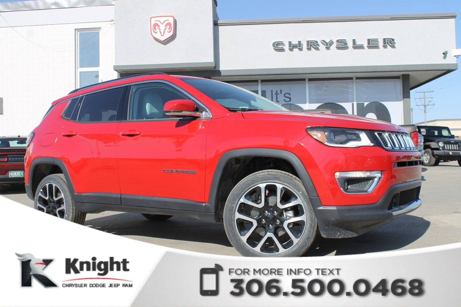 New 2018 Jeep Compass Limited 4x4 | Heated Seats and Steering Wheel | Navigation | Remote Start