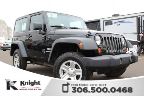 Pre-Owned 2012 Jeep Wrangler Sport - Manual Transmission - CD Player