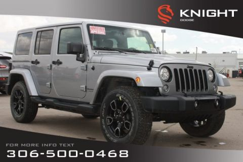 New 2018 Jeep Wrangler JK Unlimited Altitude *Advertised Special* | Navigation | Remote Start | Max Tow Package |
