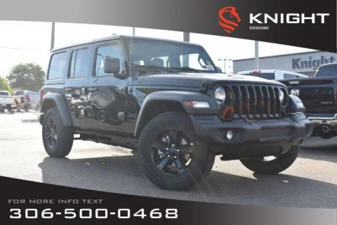 New 2019 Jeep Wrangler Unlimited Sport | Bluetooth | Heated Seats & Steering Wheel | Remote Start |