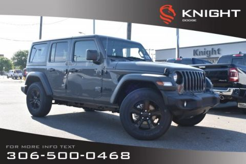 New 2019 Jeep Wrangler Unlimited Sport | Heated Seats & Steering Wheel | Remote Start |