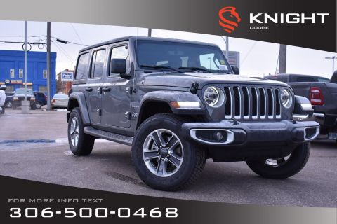 New 2019 Jeep Wrangler Unlimited Sahara Turbo | Leather | Navigation | Remote Start