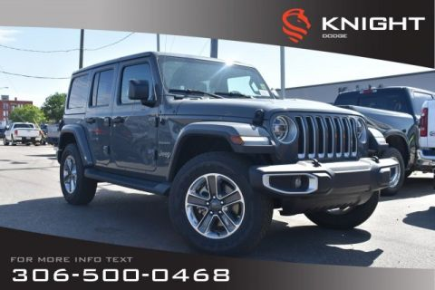 New 2019 Jeep Wrangler Unlimited Sahara Turbo | Leather | Navigation | Remote Start |