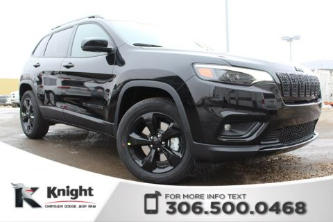 New 2019 Jeep Cherokee Altitude 4x4 V6 | Heated Seats and Steering Wheel | Navigation