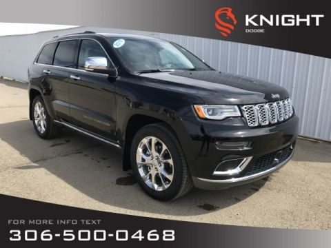 New 2019 Jeep Grand Cherokee Summit | Leather | Navigation | Heated & Cooled Seats |