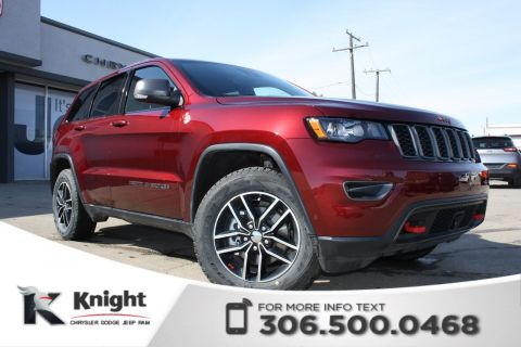 New 2018 Jeep Grand Cherokee Trailhawk V6 | Sunroof | Navigation