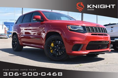 New 2018 Jeep Grand Cherokee Trackhawk 707 HP | Sunroof | Navigation