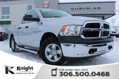 Pre-Owned 2017 Ram 1500 ST - 40/20/40 Cloth Split Front Bench - Six Foot Box - Hemi