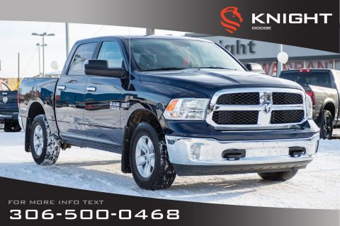 Pre-Owned 2017 Ram 1500 SLT | Heated Seats | Remote Start | Low KMs |