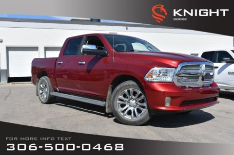 Pre-Owned 2014 Ram 1500 Longhorn Limited | Leather | Low KMs | Heated & Cooled Seats |