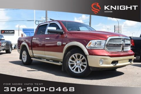 Pre-Owned 2014 Ram 1500 Longhorn | Leather | Navigation | Heated & Cooled Seats |