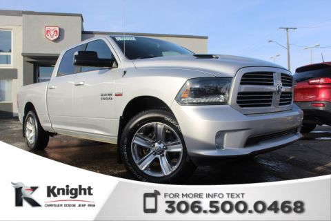 Pre-Owned 2015 Ram 1500 Sport - After Market Remote Start - Heated Cloth Seats - Heated Steering Wheel