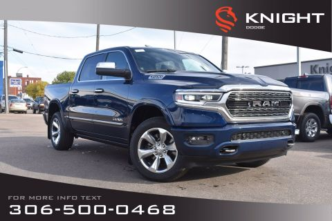 New 2020 Ram 1500 Limited Crew Cab | Navigation | 12 Touchscreen