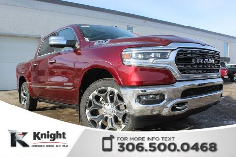 New 2019 Ram 1500 Limited Crew Cab | Sunroof | Navigation | RamBox | 12 Touchscreen