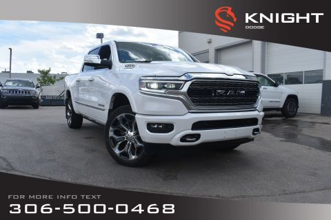 New 2019 Ram 1500 Limited Crew Cab | Sunroof | Navigation