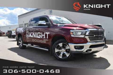New 2019 Ram 1500 Laramie | Sunroof | Navigation | 12 Touchscreen |