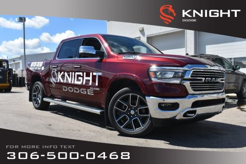New 2019 Ram 1500 Laramie Crew Cab | Sunroof | Navigation | 12 Touchscreen