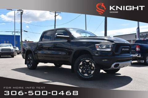 New 2019 Ram 1500 Rebel Crew Cab | Sunroof | Navigation