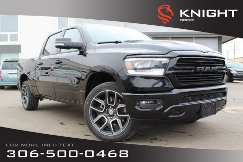 New 2019 Ram 1500 Sport Crew Cab | Leather | Sunroof | Remote Start