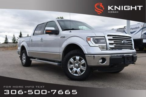 Pre-Owned 2013 Ford F-150 Lariat | Leather | Navigation | Heated & Cooled Seats |