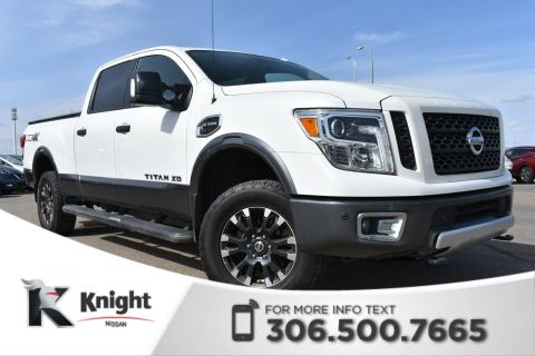 Pre-Owned 2016 Nissan Titan XD PRO-4X Low KMs | Leather | Tow Package | Heated Seats |