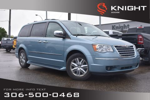 Pre-Owned 2010 Chrysler Town & Country Limited | Leather | Heated Seats | DVD | 3rd Row Seating