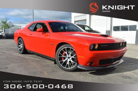 Pre-Owned 2016 Dodge Challenger SRT 392 | Leather | Bluetooth | Low KMs | Remote Start