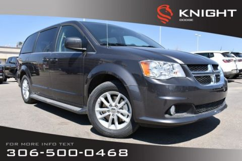 New 2019 Dodge Grand Caravan SXT | Premium Plus | Stow-n-Go | Bluetooth | DVD