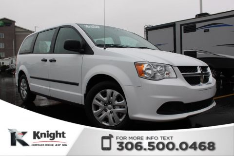 Pre-Owned 2016 Dodge Grand Caravan Canada Value Package - CD Player - 2nd Row Bench - 3rd Row Stow-N-Go