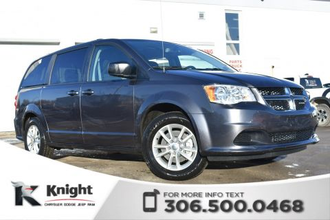 Pre-Owned 2018 Dodge Grand Caravan SXT Plus - LOW KMs - Accident Free - DVD Player