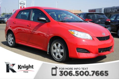 Pre-Owned 2010 Toyota Matrix Base! Command Start! Satellite Radio! Key-less Entry! A/C!
