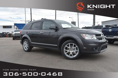 New 2019 Dodge Journey GT | Leather | Navigation | Heated Seats & Steering Wheel | DVD |
