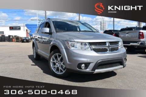 New 2019 Dodge Journey GT | Leather | Sunroof | Navigation | DVD |