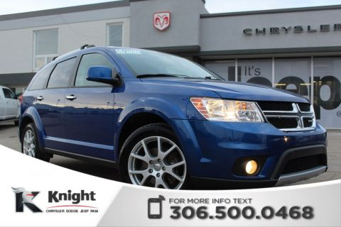 Pre-Owned 2015 Dodge Journey R/T - DVD - Remote Start - Heated Leather Seats - 3rd Row Seating